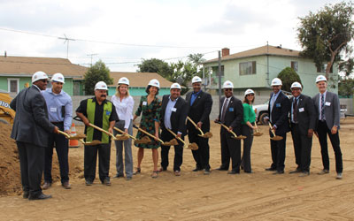 Inglewood Breaks Ground on New Senior Housing