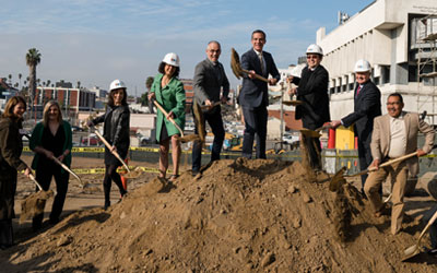 First project funded by Measure HHH gets underway