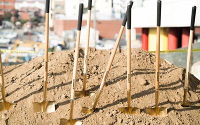 City Leaders Break Ground On First Prop HHH-Funded Supportive Housing Units