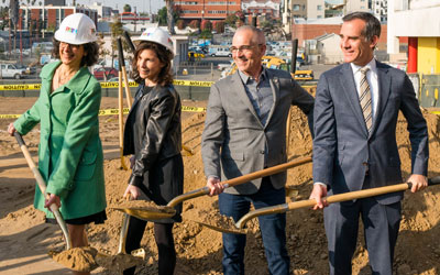 Measure HHH-Funded Project Breaks Ground in Rampart Village