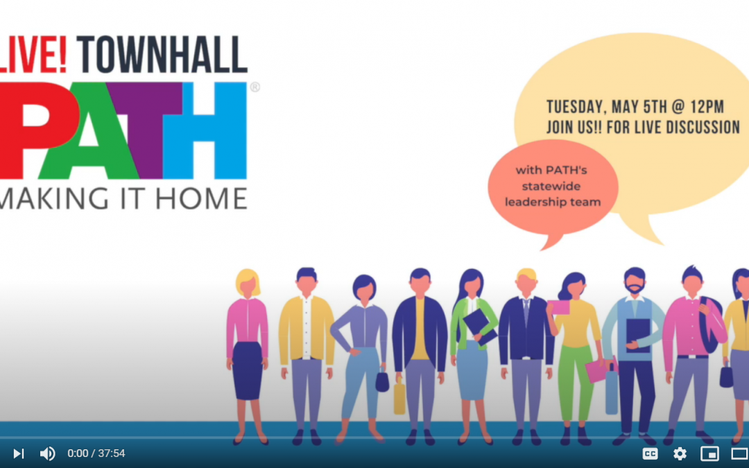Live Townhall Discussion with PATH and our Stakeholders