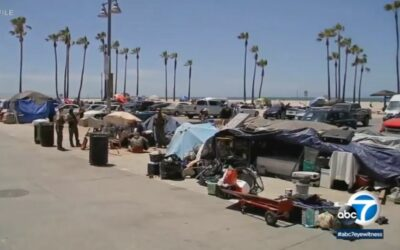 Temporary shelter for homeless in Venice helps some get back on their feet