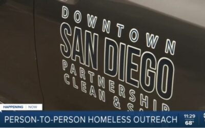 Person-to-person homeless outreach effort begins in downtown San Diego