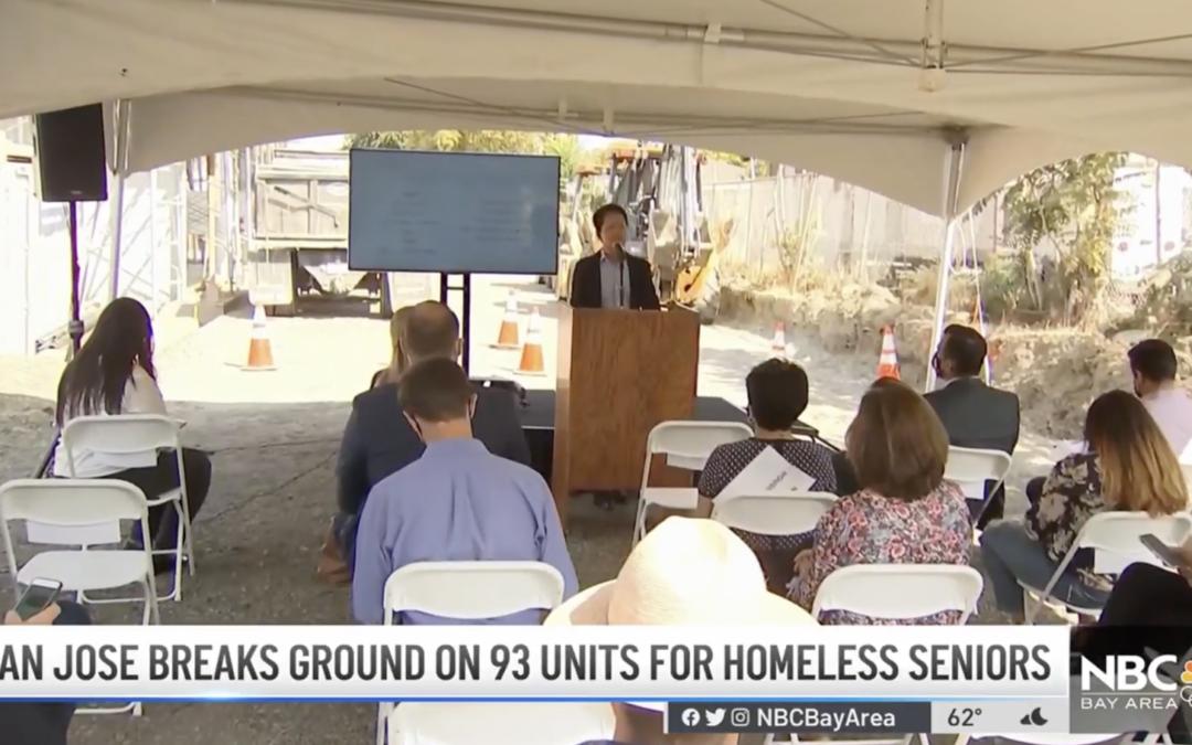 San Jose Breaks Ground on 93 Units for Homeless Seniors